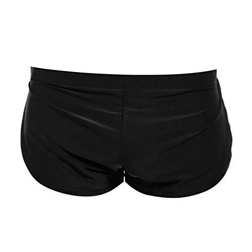 Mens Soft Boxer Briefs Breathable Underwear Low Rise Bulge Pouch Sexy Thongs Bikini Shorts Panties Sport Underpants