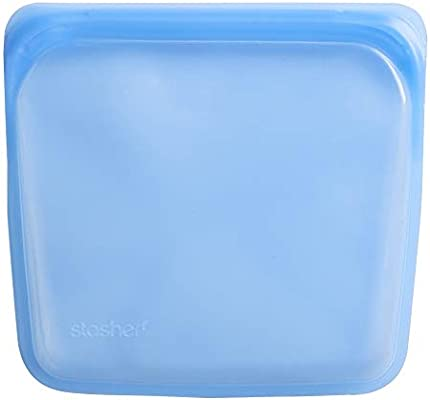 Amazon.com: Stasher, bolsa reutilizable Topaz: Kitchen & Dining