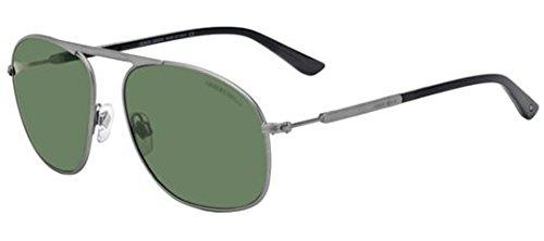 Giorgio Armani 6015 303231 Matte Gunmetal 6015 Aviator Sunglasses Lens - Aviator Giorgio Armani Sunglasses