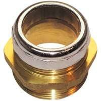 Plumb Pak PP811-89 Male Ground Joint Waste Connection 1-1/4 SPS Inlet by 1-1/4 OD Outlet by Plumb - Pak Outlet Plumb