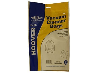 Hoover Whirlwind TCPW2000 Vacuum Cleaner Dust Bags x 5 Spares Direct 2 U Ltd