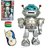 Team R/C Radio Remote Controlled RC Dancing Robot w/ R/C Missile Disc Launcher