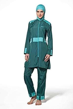 Green Burqini For Women