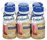 Ensure Plus Nutrition Drink Strawberry Bottles 24 X 8oz Case by Abbott
