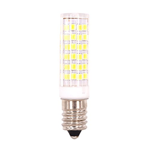 E14 2835 75 Led Crystal Bulb Lamps 7 Watt AC 220V Equivalent to 70W Halogen,Supper Bright Energy Saving LED Capsule Bulbs Warm White Pack of 4 by Huajun