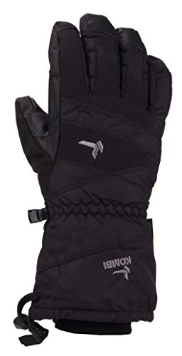 (Kombi Session Cold Weather Gloves, Large, Black )