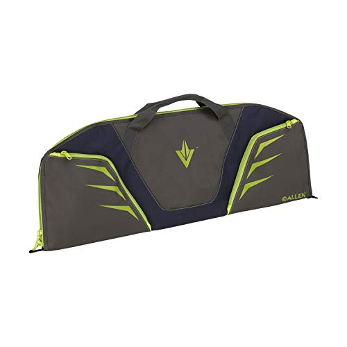 Allen Company Compact Compound Bow Case, 34 inches - Navy/Lime