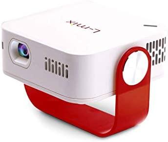 Proyector Portátil Mini Mix HD,Tecnología 5G, Soporte para ...