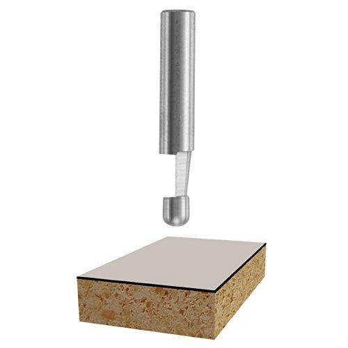 Bosch 85286 Solid Carbide 7-1/2-Degree by 1/4-Inch Cut Length Bevel Trim (Bosch Trim Bits)