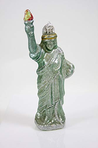 Cody Foster & Co Statue of Liberty Glass Hanging Ornament ()