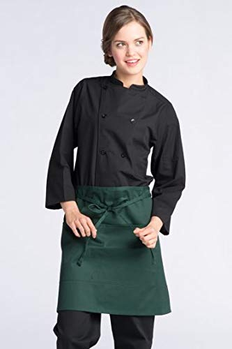 Uncommon Threads Unisex  Half Waist Apron, Hunter, One Size