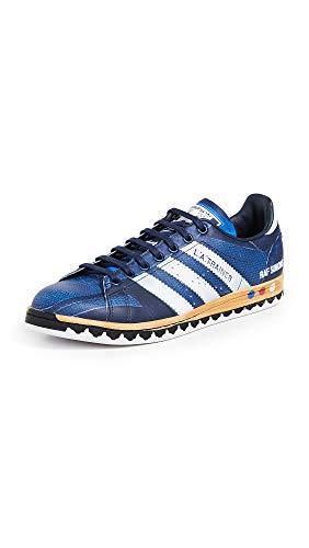 adidas by RAF Simons Men's LA Stan Sneakers, Blue Multi, 10 M US
