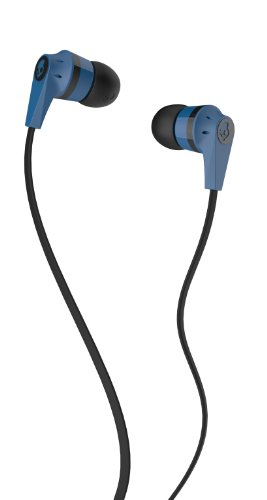 Skullcandy Inkd 2 Earbud  Blue Black   Discontinued By Manufacturer