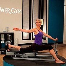 Pilates power gym pro 39 3 elevation mini reformer exercise for Gimnasio cardio pilates