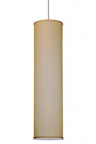 """Meyda Tiffany 144970 Cilindro Honey Bombay Textrene Pendant, 10"""" W"""