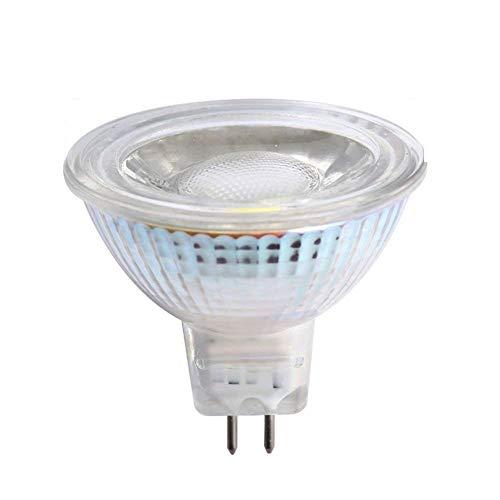 CTKcom MR16 5W COB LED Bulbs(6 Pack)- LED Bulb Spotlight Cob MR16 12V 50W Halogen Light Equivalent 6000K Daylight White Ultra Bright LED Spot Light 12V Recessed Lighting