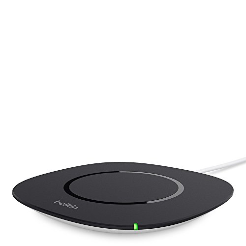 Belkin Boost Up Qi Wireless Charging Pad 5W - Universal Wireless Charger for iPhone XR, XS, XS Max / Samsung Galaxy S9, S9+, Note9 / LG, Sony and more