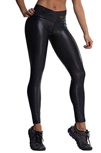 Drakon Leggings Woman Activewear Compression Pants Yoga Tights Black