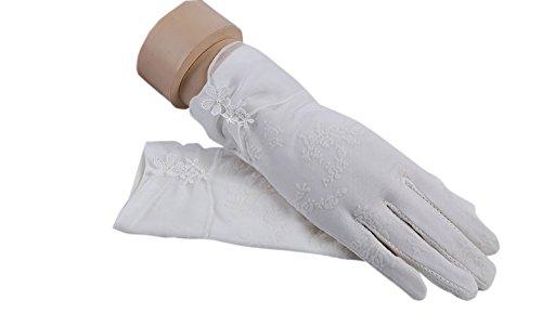 formanism エレガント 大人上品 ガーリー シックカラー 紫外線防止 UV サマー手袋 レディース (B)
