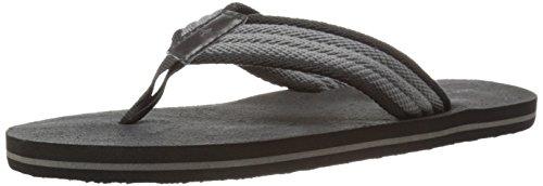 Dockers Mens 2124 Flip-flop Nero / Grigio