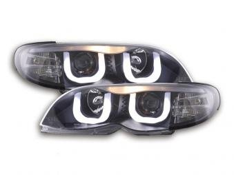 Palette 9x Headlight Angel Eyes Bmw 3er E46 Limotouring Bj 02 05