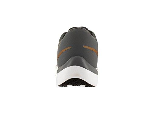 Nike Mens Free Trainer 5.0 V6 Scarpa Da Allenamento Cool Grigio / Bianco / Nero / Metallizzato Oro Misura 9,5 M Us