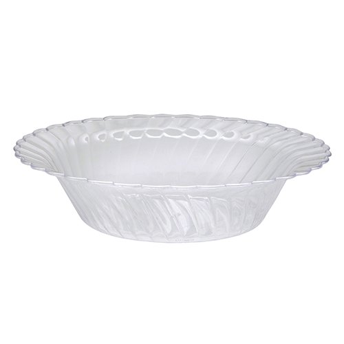WNA 18 Count Classicware Fluted Bowl, 10 oz, Clear 18k Fluted
