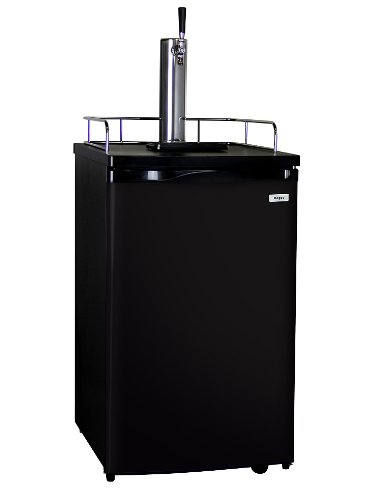 Kegco Kegerator Full-Size Keg Cooler - Single Faucet - D System