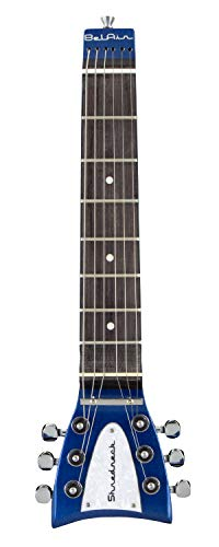 Shredneck Practice Guitar Neck - Shredneck BelAir 7 Model - SNBA-BMF Blue Metalflake