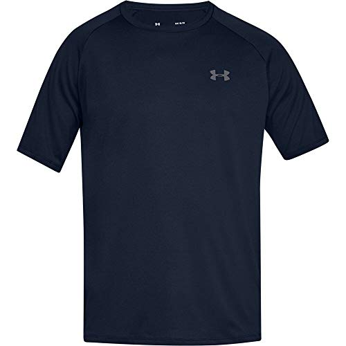 Under Armour Men's Tech 2.0 Short Sleeve T-Shirt, Academy (408)/Graphite, 3X-Large by Under Armour (Image #6)