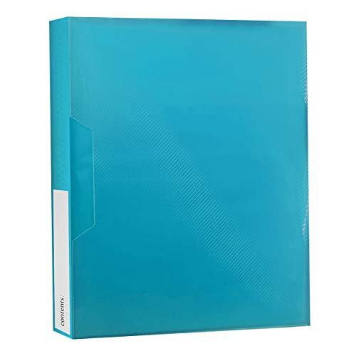 (Pioneer Photo Albums CF-2 72-Pocket Poly Cover Space Saver Photo Album, Blue)