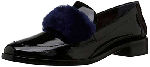 Loeffler Randall Women's Greta Penny Loafer, Black/Eclipse, 7.5 M (Black Eclipse Casual Shoes)