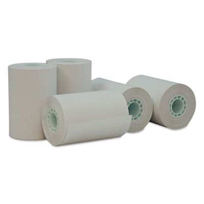 Universal 35766 Single-Ply Thermal Paper Rolls, 2 1/4'' x 55 ft, White, 50/Carton