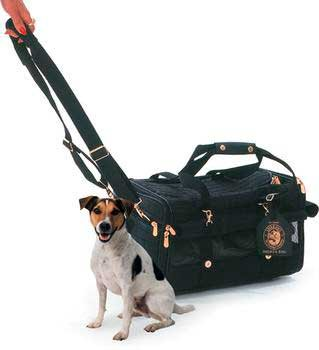 Sherpa Ultimate On Wheels Pet Dog Cat Carrier Bag Crate Large 20