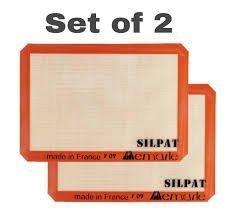 Silpat Original non stick Baking mat half size 2 Pack