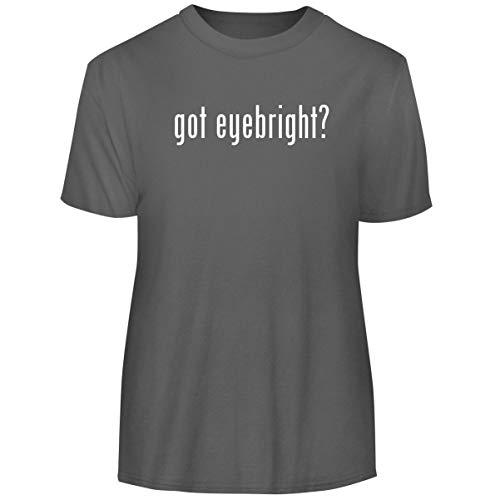 One Legging it Around got Eyebright? - Men's Funny Soft Adult Tee T-Shirt, Grey, Large ()