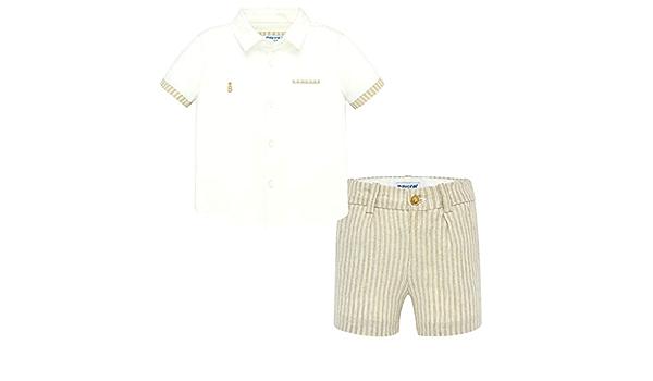 Mayoral 1293 - Conjunto de pantalón Corto y Camisa para ...