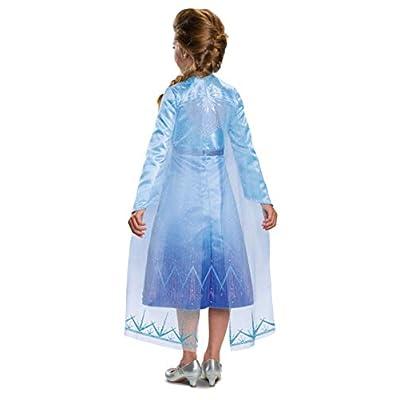 Disguise Disney Elsa Frozen 2 Prestige Girls' Halloween Costume: Toys & Games