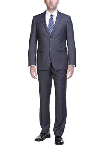 2 Piece Button Blazer Jacket Front