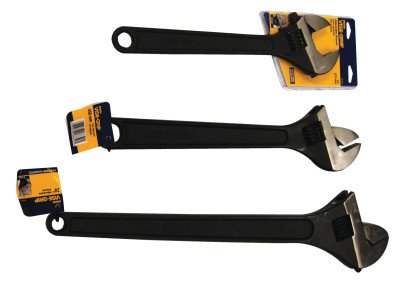 3pc Adjustable Wrench Kit