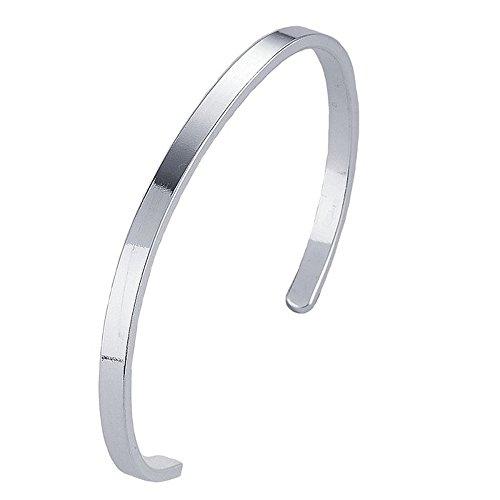 Sterling Silver Classic Unisex Bracelet