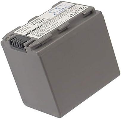 DCR-DVD305 Rechargeable Battery NP-FP91 Replacement for Sony DCR-DVD105E DCR-DVD105 7.4v 2100mAh DCR-DVD203