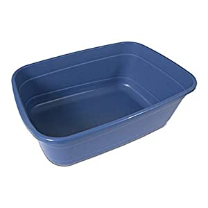 Petmate Giant Litter Pan High-Capacity Cat Litter Box Blue Mesa Color 52