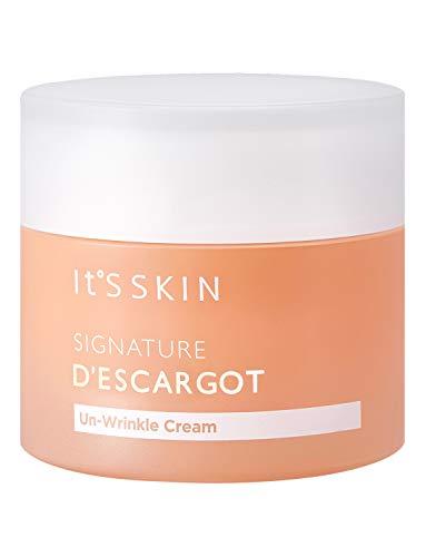 ItS SKIN Signature Descargot Unwrinkle Snail Repair Cream 55ml 1.86 fl. oz. - Anti Aging Wrinkle Care Skin Tightening Repair Moisturizing Essence for Youthful Appearance Mucin Serum Gel