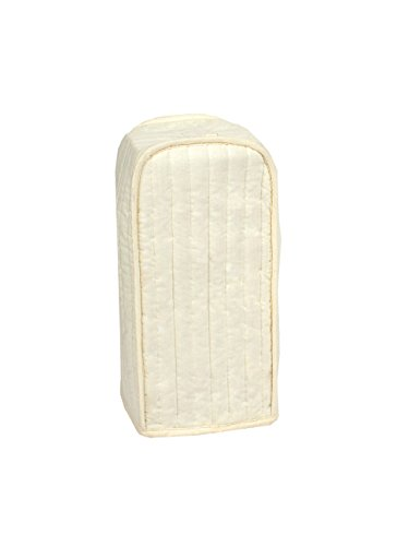 RITZ Polyester / Cotton Quilted Blender Appliance Cover, Dust and Fingerprint Protection, Machine Washable, Natural
