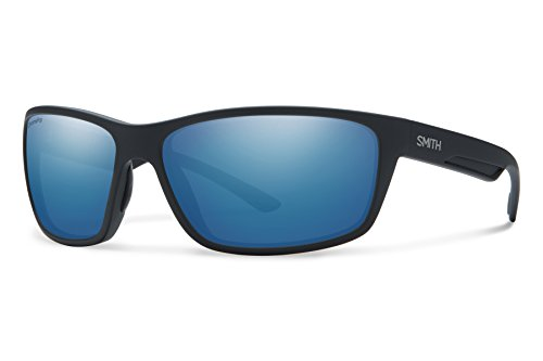 Smith Optics Men's Redmond Chroma Pop Polarized Sunglasses (Blue Lens), Matte - Glasses Chroma