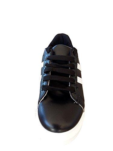 Inizio Pro Infinito, Signore Sneaker Nero Nero 38 Eu = 36 Italiana