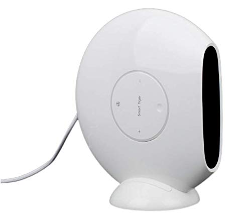 Mlide Small Flying Saucer Smart Heater,Ceramic Portable Space Heater with Adjustable Thermostat - Perfect For the Home