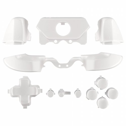 ModFreakz™ Full Button Set Polished White For Xbox One Model 1697 Controllers