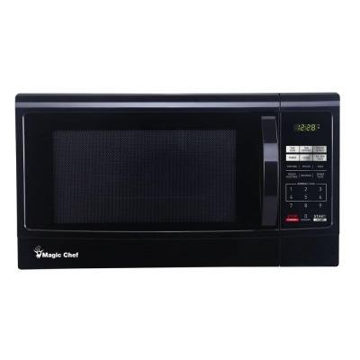 Magic Chef Mcm1611b 1100w Microwave Oven 1 6 Cu Ft Black